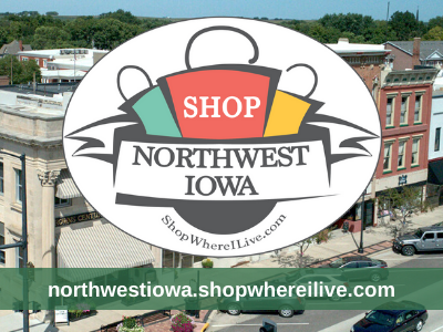 Northwest Iowa Shop Where I Live logo